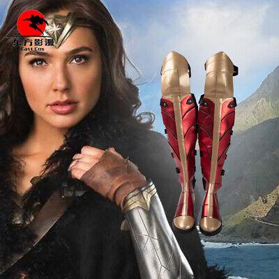 Shoes For Halloween Costumes (DFYM Wonder Women Cosplay Boots for Adult Women Costumes Shoes)