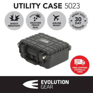 Evolution Gear 5023 Black HD Series Safe Travel Hard Case