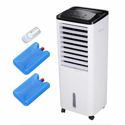 Evaporative Cooler Portable Air Cooler Humidifier Ice Pack E