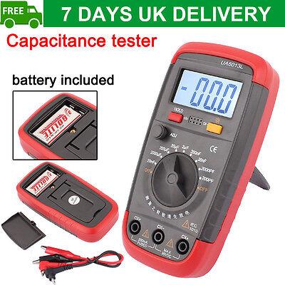 Digital LCD Meter Capacitor UA6013L Capacitance Tester Checker Multimeter