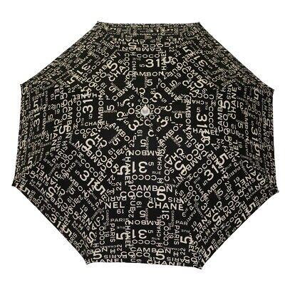 CHANEL Bysy line Umbrella / umbrella Other miscellaneous goods black/White...