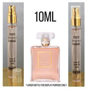 Coco Mademoiselle CHANEL Womens EdP 10ml Perfume Glass Travel Spray - Gift Boxed