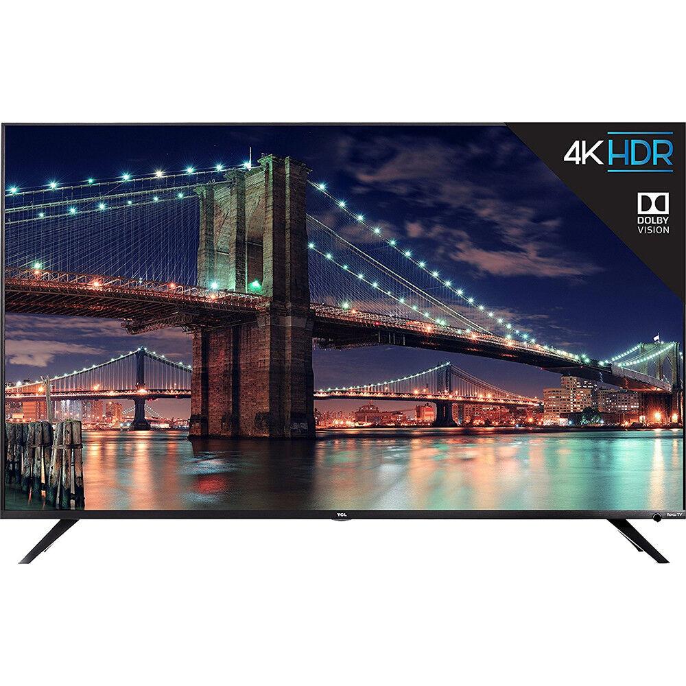 "55R617 TCL 55/"" 4K Ultra HD Dolby Vision HDR Roku Smart TV 2018 Model"