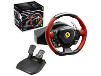 Thrustmaster Ferrari 458 Spider Racing Wheel for Xbox One And PC! (Hardly Used.)