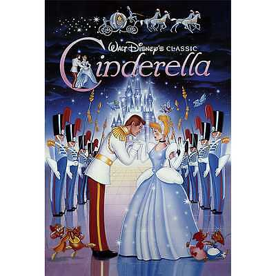Disney Cinderella Vintage Art Series 3D Lenticular Card / Disney 3D Postcard
