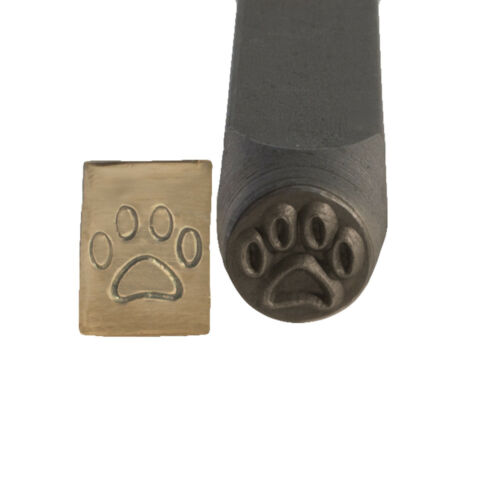 Paw Print Metal Stamp 6 mm - SFC Tools - 55-603