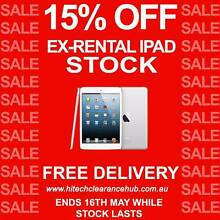 Ex-Rental iPad Clearance - Hi Tech Clearance Hub - Warranty Murarrie Brisbane South East Preview