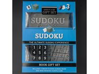Sudoku Puzzle and Book Gift set, unopened