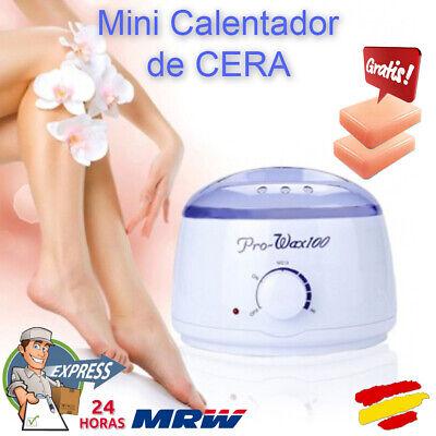 Mini Calentador de Cera depilación profesional más 2 pastillas Parafina gratis