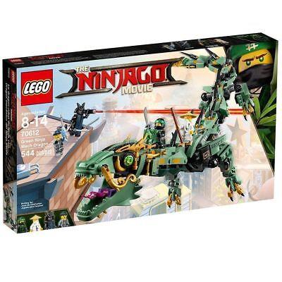 Lego Ninjago Green Ninja Mech Dragon 70612 New   Sealed Gift Toy Figure