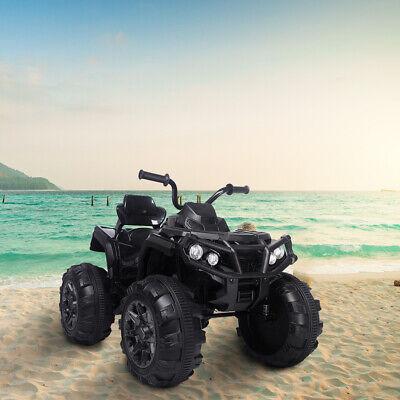 Electric 12V Kids Ride On ATV Toy Car Quad 4 Wheeler W/LED Lights Treaded Tires