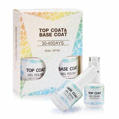 Base And Top Coat Gel Foundation For UV Gel Best Transparent BOZLIN