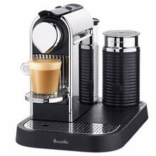 Nespresso Citiz&Milk Breville Chrome coffee machine package Chatswood Willoughby Area Preview
