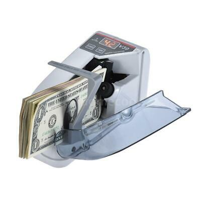 Portable Mini Bill Cash Money Currency Note Counter Counting Machine 600pcsmin