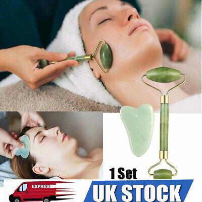 Jade Face Massage Roller Anti Ageing Facial Massager Beauty Tool Eyes Massager