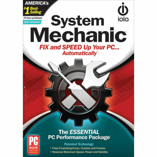 ioLo System Mechanic (1 PC - 1 Year) Global Code (eDelivery)