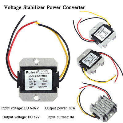 Dc-dc 5-32v To 12v3a Automatic Voltage Stabilizer Power Converter Regulator
