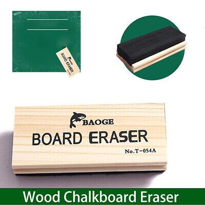Felt Chalkboard Eraser Excellent Chalk Absorption With Durable Wood Handle New