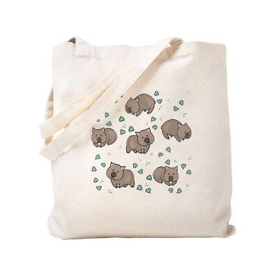 CafePress Wombat Natural Canvas Tote Bag, Cloth Shopping Bag (953382080)](Natural Canvas)