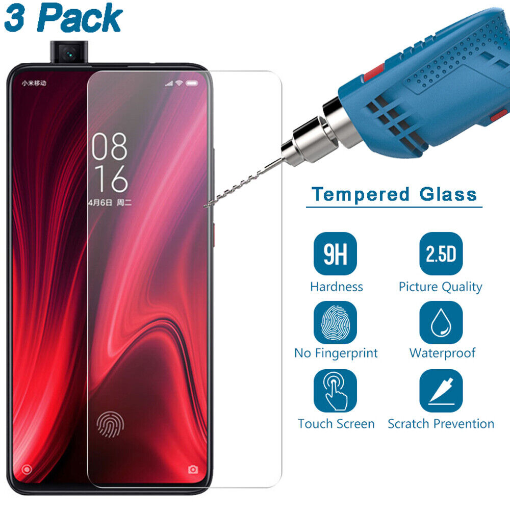 For Xiaomi Mi 9T 9 SE Redmi K20 7 6 Note 8 7 Pro Tempered Gl