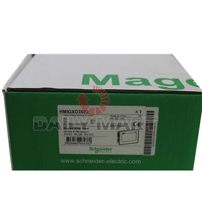 Brand New In Box Schneider Hmigxo3502 Magelis 7 Color Touch Screen Panel Tft