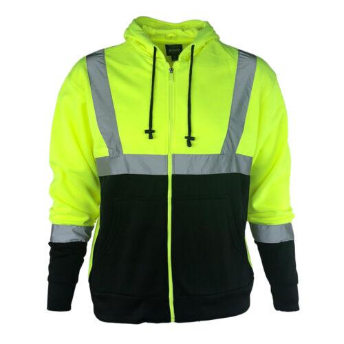 Buffalo Outdoors® Class 2 Hi Vis Reflective Safety Hoodie
