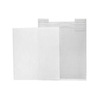 "11-1/2""W x 15""H Slatgrid Gridwall Lucite Clear Acrylic T-Shirt Display Panel"