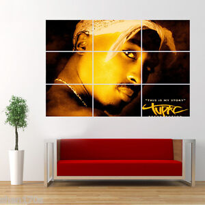 Tupac Shakur 2Pac Poster Giant Huge Wall Art Large