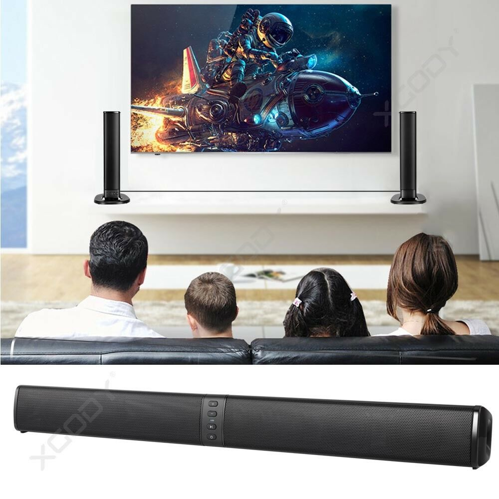 Bluetooth 4.1 Wireless Home TV Soundbar Sound box Detachable