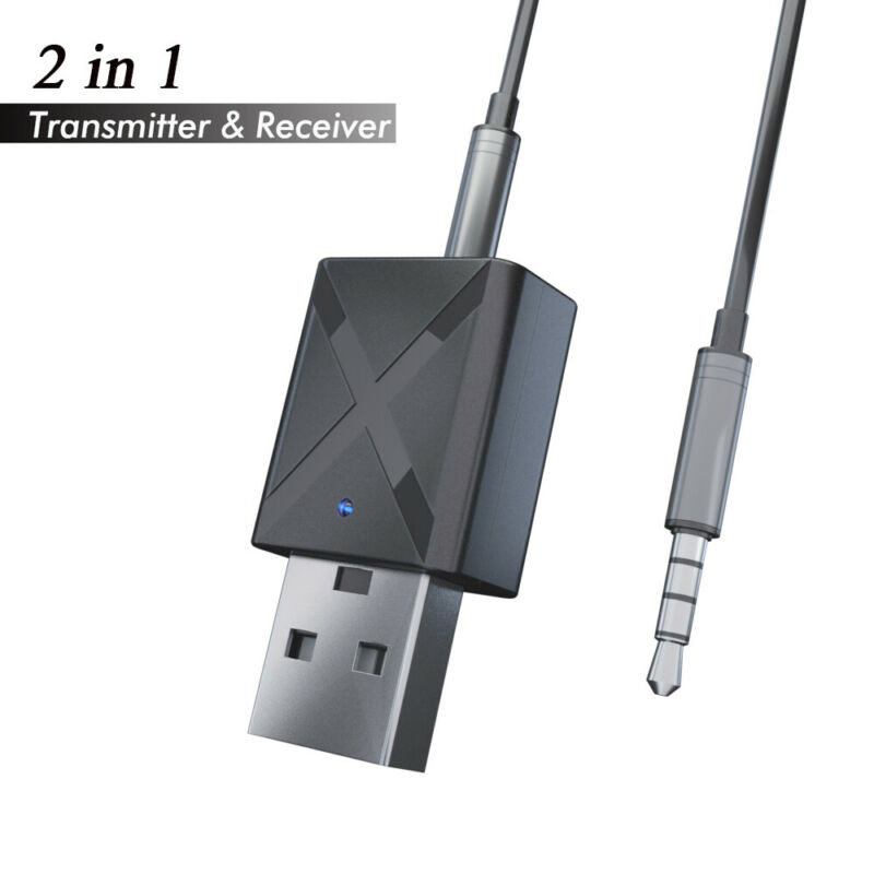 Audio Speaker Headphone Bluetooth Adapter Dongle USB Receiver Digital Devices