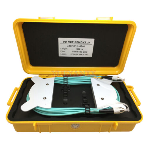 OTDR Dead Zone Eliminator 1000M Fiber OTDR Launch Cable Box MM OM3 FC/PC-FC/PC