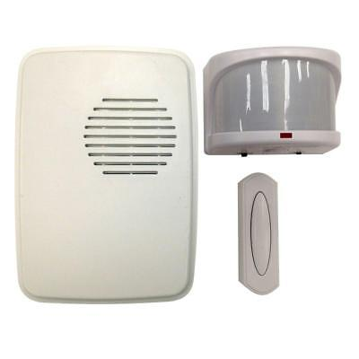 Hampton Bay Wireless Motion Alert Doorbell Kit HB-7903-02 1001411386 Motion Alert Kit