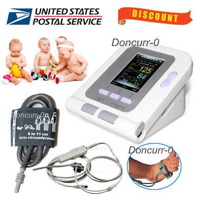 Borninfantpediatric Blood Pressure Monitor Infant Spo2 Pr Sphygmomanometer