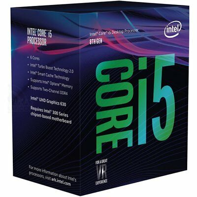 Intel Core I5 8400 Six Core Coffee Lake Processor 2 8Ghz 8 0Gt S 9Mb Lga 1151