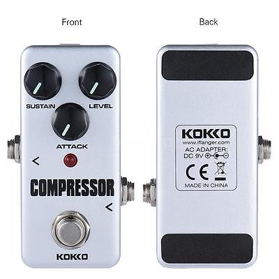 Professional KOKKO FCP2 Mini Compressor Pedal Portable Guitar Effect Pedal Z4Q0