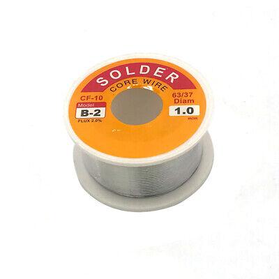 63-37 Tin Lead Rosin Core Solder Wire Soldering Sn63 Pb37 Flux .0391.0mm 50g