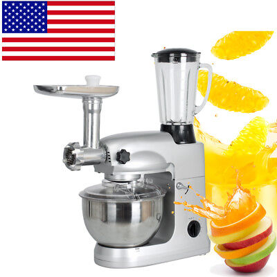 Multifunctional Stand mixer 5L Food Mixing Bowl Dough Knead Machine Meat Grinder