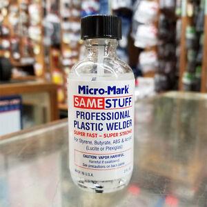 SAME STUFF…LIQUID PLASTIC WELDER 2 FL. OZ. BY MICRO-MARK 84113