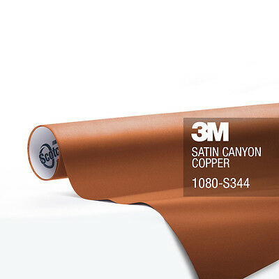 3M 1080 Satin Canyon Copper Vinyl Vehicle Decal Trim Car Wrap Film Sheet Roll