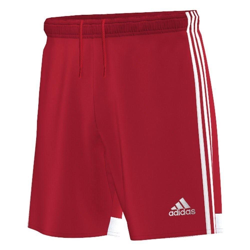 Adidas Kinder Sporthose Climacool Freizeit Hose kurz rot 140 152 164 Schule NEU