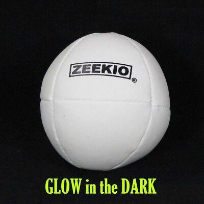 Zeekio Komet Juggling Ball - (1) Ball 130g 62mm (Glow in the - Glow In The Dark Juggling Balls
