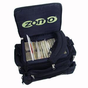 Zomo Ragga Bag 45 Record Bag  7Inch vinyl DJ 150 Capacity Black