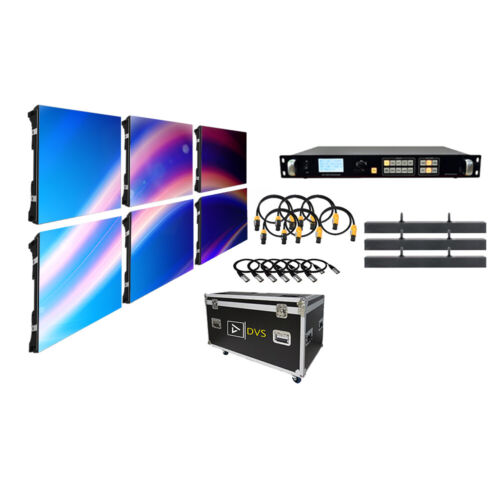 NEW TURNKEY COMPLETE P3.9 OUTDOOR LED VIDEO WALL 6-PANEL SYSTEM PACKAGE