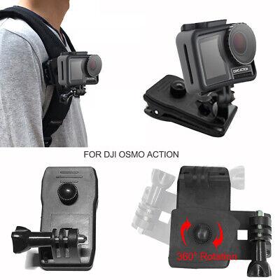 Fit for DJI OSMO ACTION Sports Camera Shoulder Strap Clip Bracket Adjustable