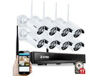 CCTV Security Camera System Surveillance Kit 1TB HDD CCTV Security Camera System Surveillance Kit