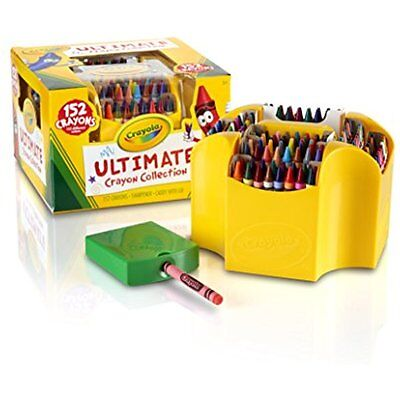 Crayola Ultimate Crayon Colors Collection Art Set 152 Color Paint Kids & Adult ](Ultimate Crayon Collection)