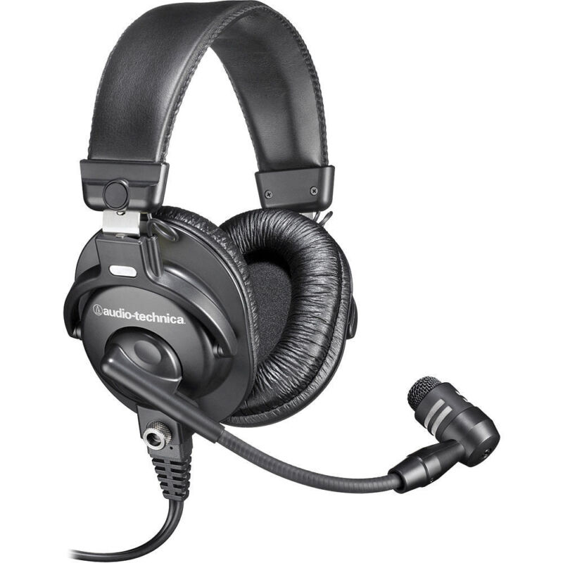 Audio-Technica BPHS1 Broadcast Stereo Headset With Cardioid Boom Microphone