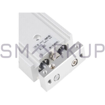 New In Box Smc Cxsm10-30 Dual Rod Cylinder Double Acting