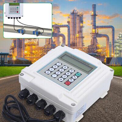 Tuf-2000sw Ultrasonic Flowmeter Wall Mounted Digital Water Flow Meter Rs485 Usa