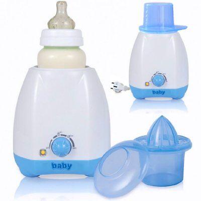 Elektrischer Flaschenwärmer Babykostwärmer für Babyflaschen mit Zubehör NEU